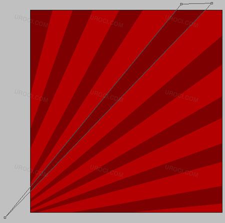 Rose design element in Photoshop CS